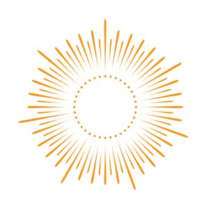 Orange Logo Image of the Sun